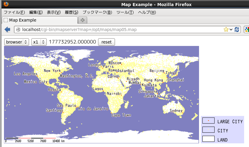 GIS Mapserver - @//メモ